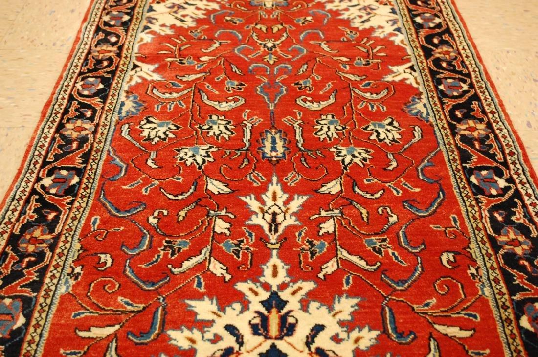 Antique Persian Sarouk Rug 2.9x15 - 6