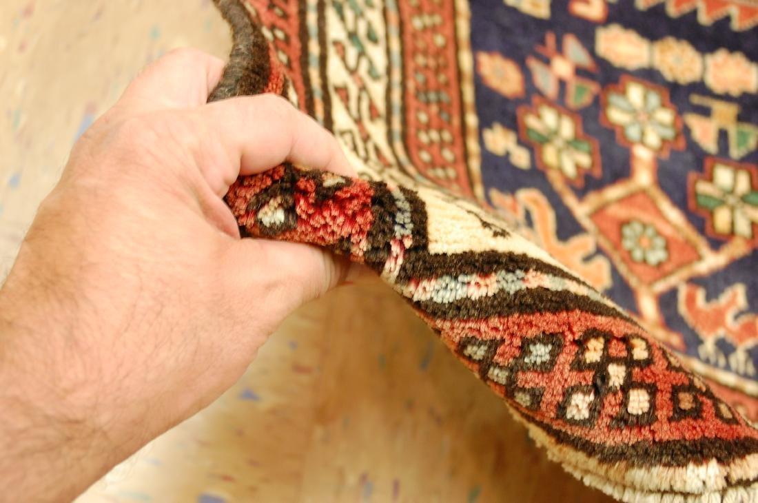 Antique Caucasian Kazak Shirvan Design Rug 3.9x10.7 - 8