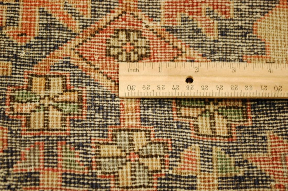 Antique Caucasian Kazak Shirvan Design Rug 3.9x10.7 - 9