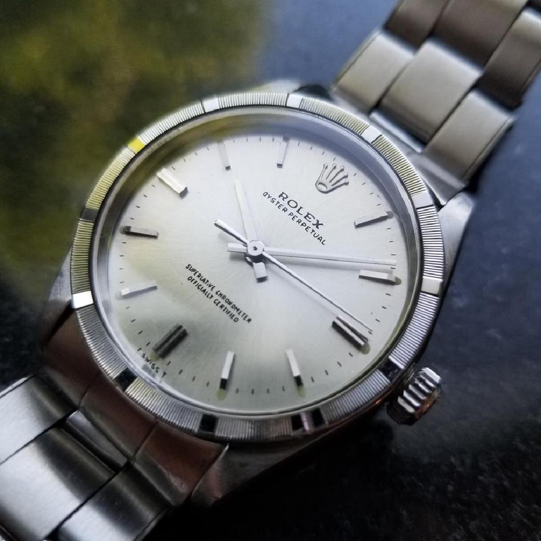 ROLEX Men's Oyster Perpetual 1007 Automatic cal.1570