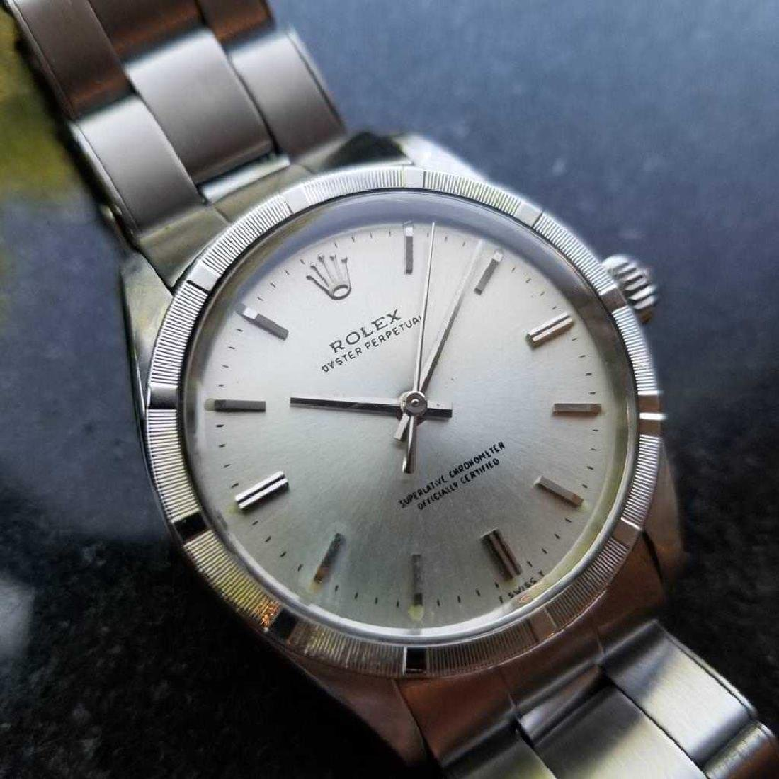 ROLEX Men's Oyster Perpetual 1007 Automatic cal.1570 - 2