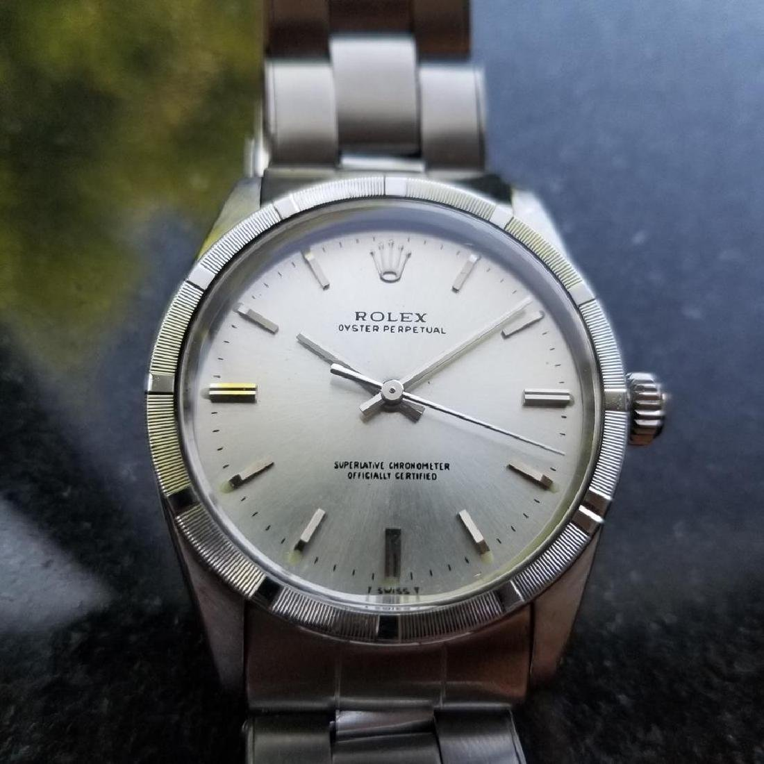 ROLEX Men's Oyster Perpetual 1007 Automatic cal.1570 - 3