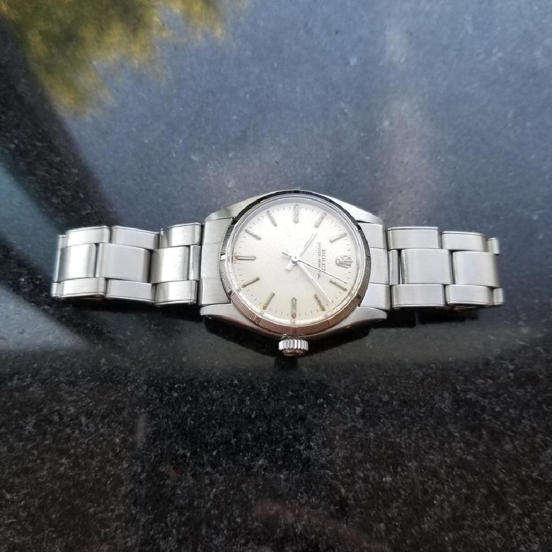 ROLEX Men's Midsize Rolex Oyster Perpetual 6549 - 5