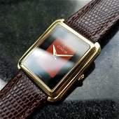 CORUM 18K Gold Ladies Hand-Wind Dress Watch ref.27218