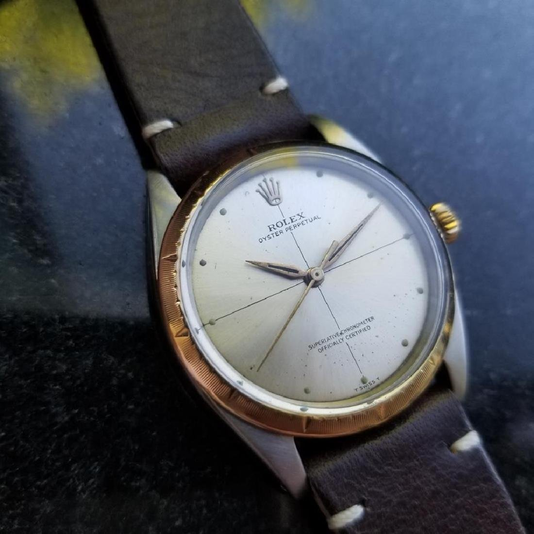 ROLEX Men's 18K and SS Oyster Perpetual 1008 Zephyr - 2