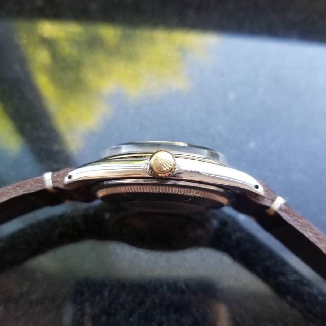 ROLEX Men's 18K and SS Oyster Perpetual 1008 Zephyr - 4