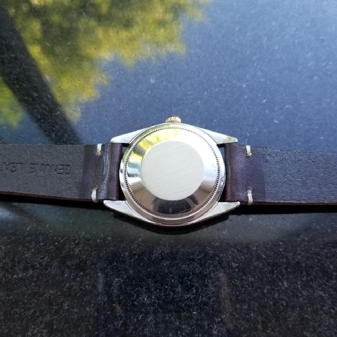 ROLEX Men's 18K and SS Oyster Perpetual 1008 Zephyr - 6