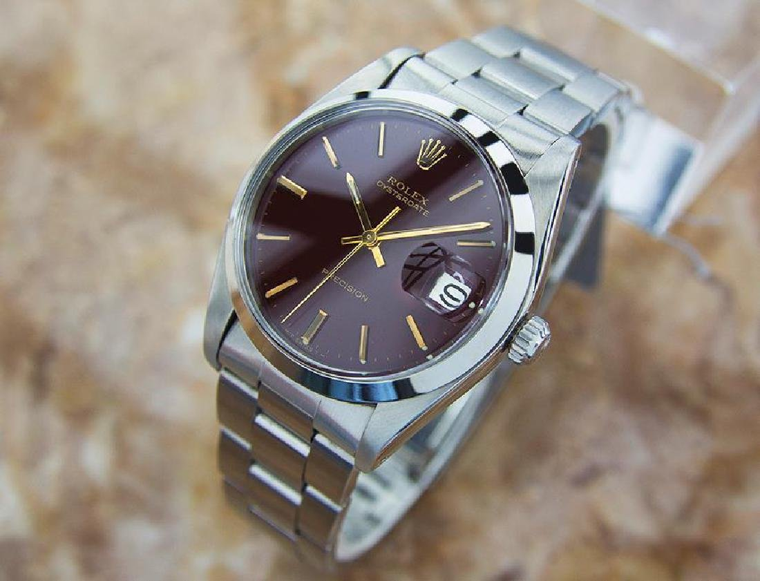 Rolex 6694 Rare Mens Swiss Manual Stainless Steel - 3