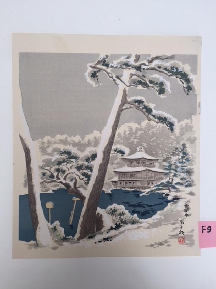 Tomikichiro Woodblock Kinkakuji