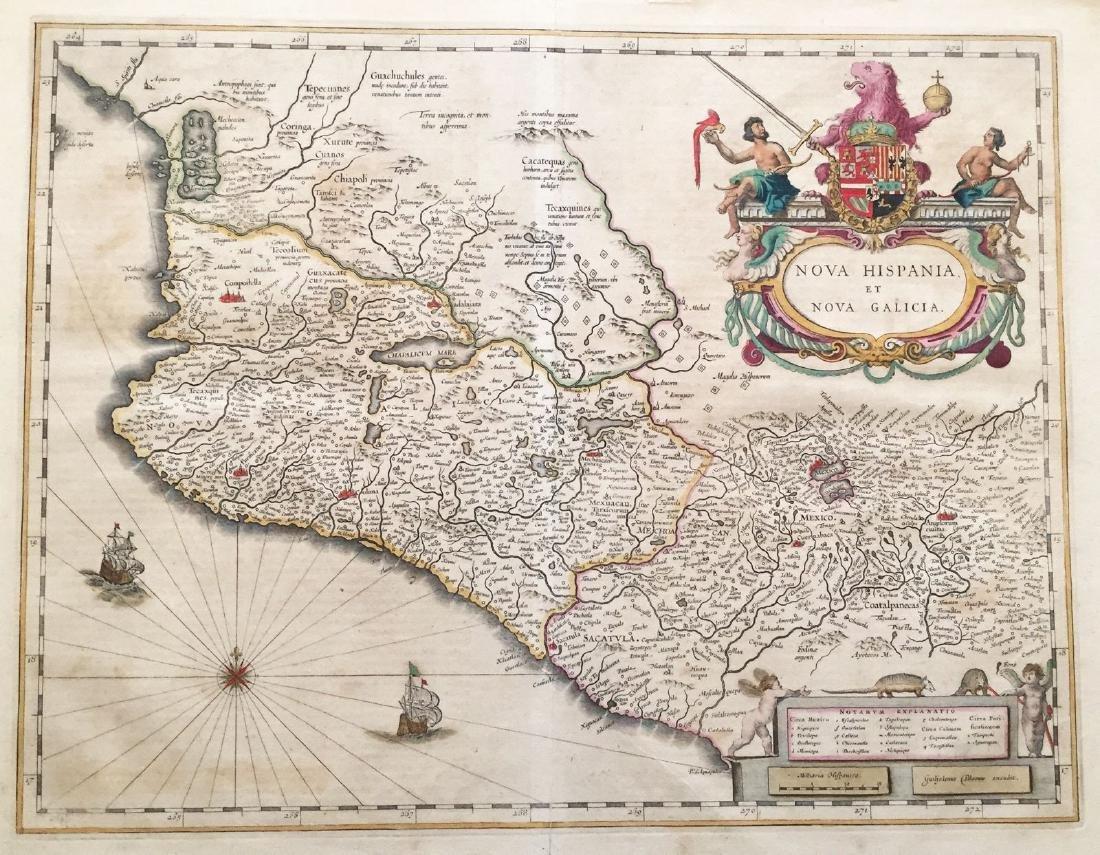 Blaeu: Mexico/New Spain & New Galicia