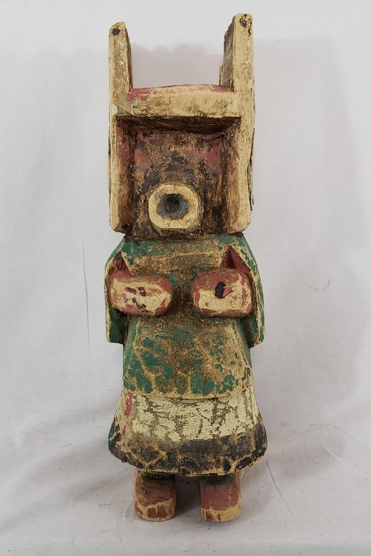 Large Hopi Cotton Wood Kachina Doll Ca 1930's