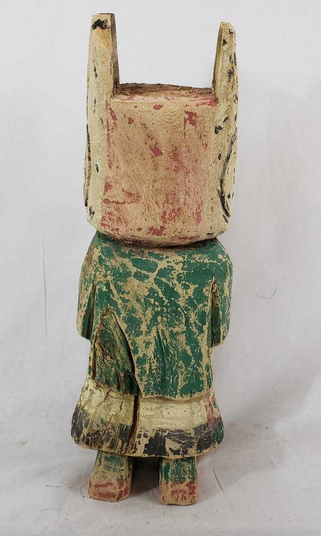 Large Hopi Cotton Wood Kachina Doll Ca 1930's - 3