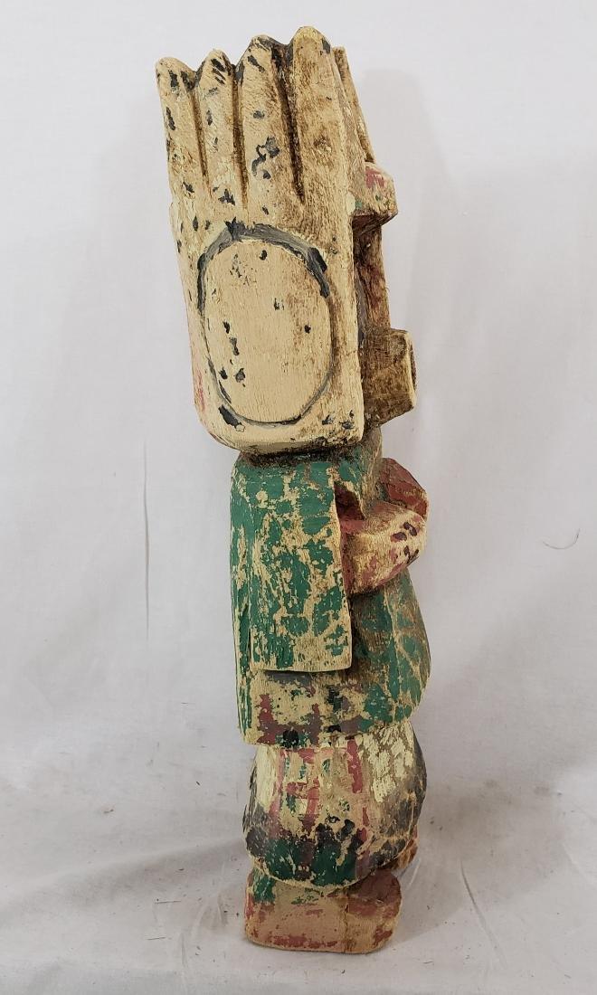 Large Hopi Cotton Wood Kachina Doll Ca 1930's - 4