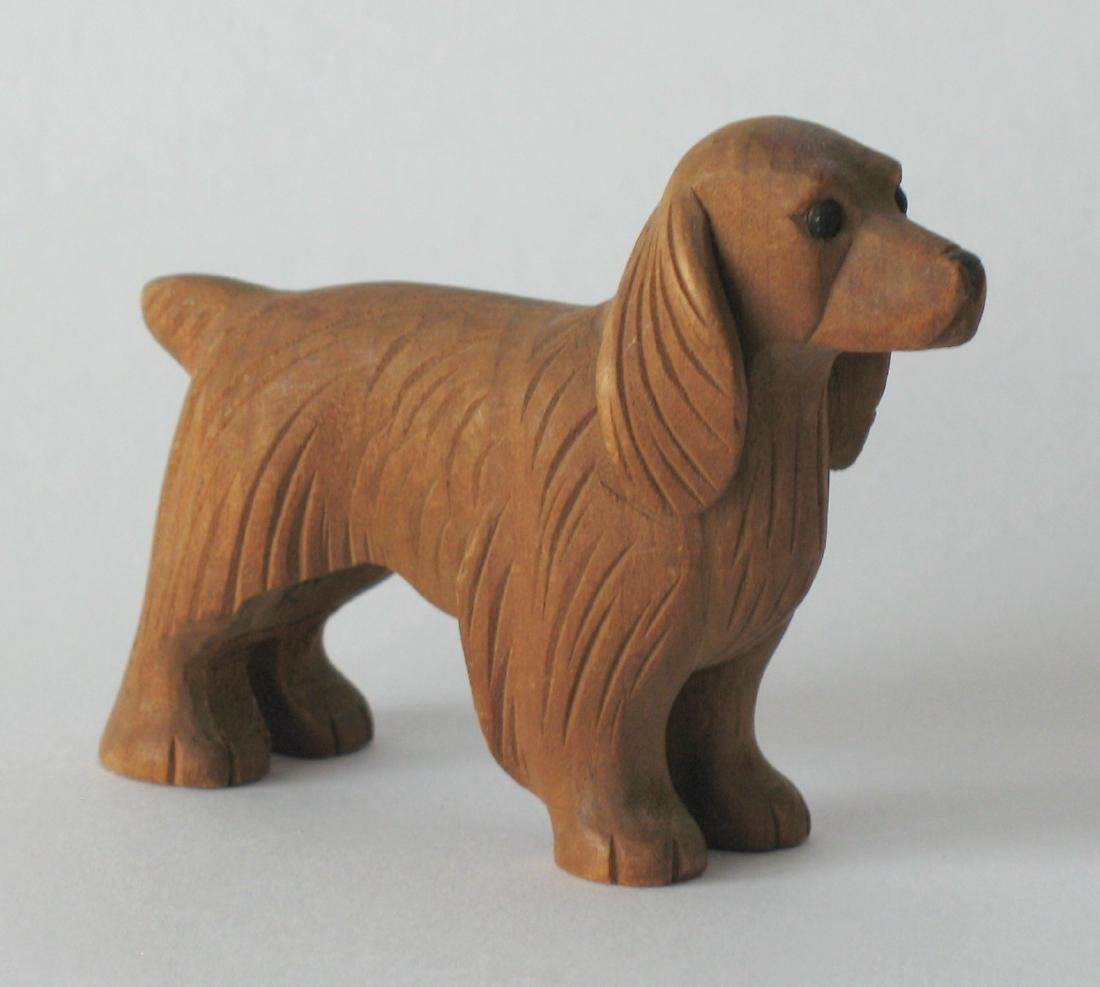 Folk Art Dog Carving