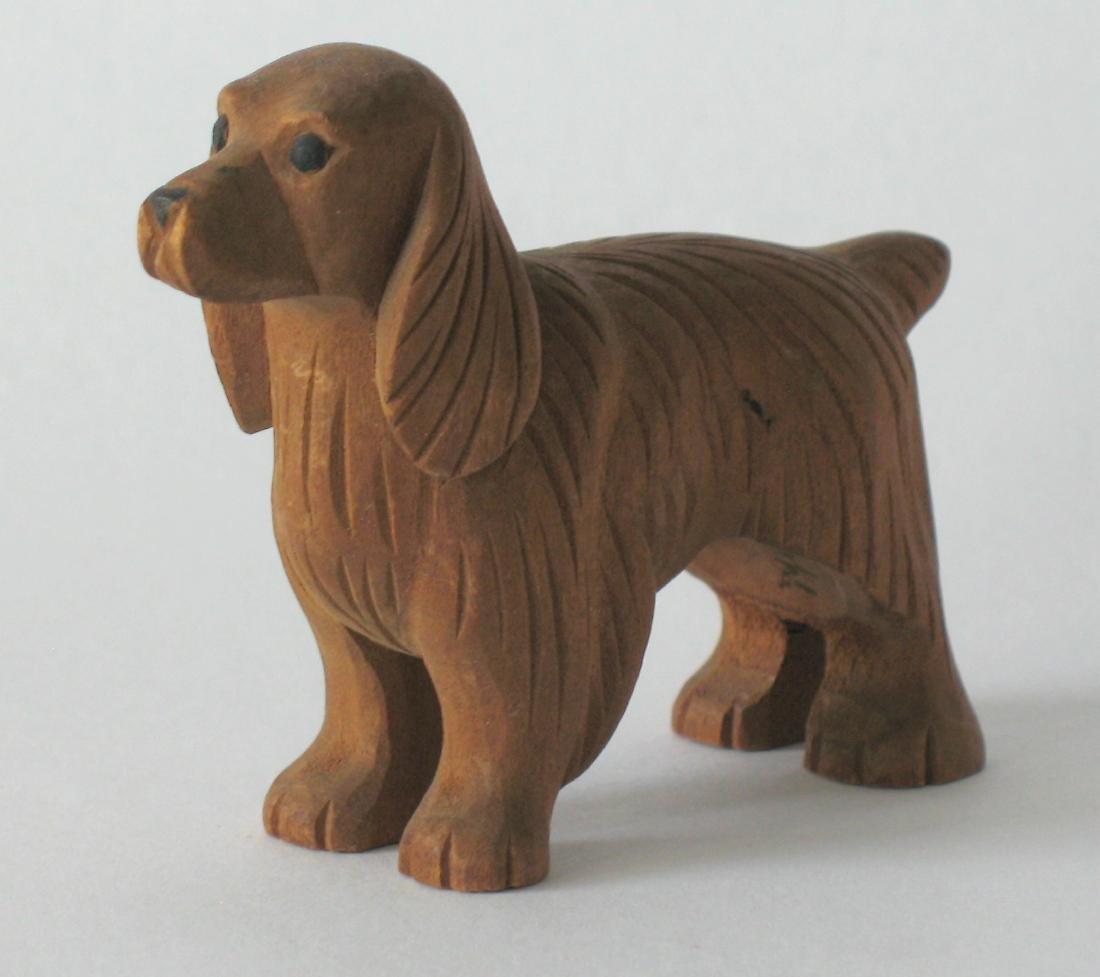 Folk Art Dog Carving - 2