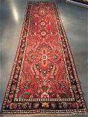 Vintage Authentic Persian Sarouk Runner Rug 35x13