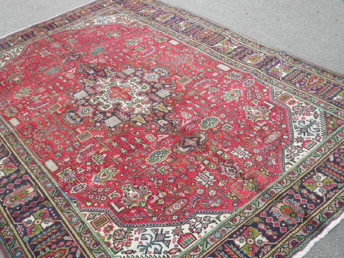 Fascinating Semi Antique Persian Tabriz Rug 9.5x6.4 - 2
