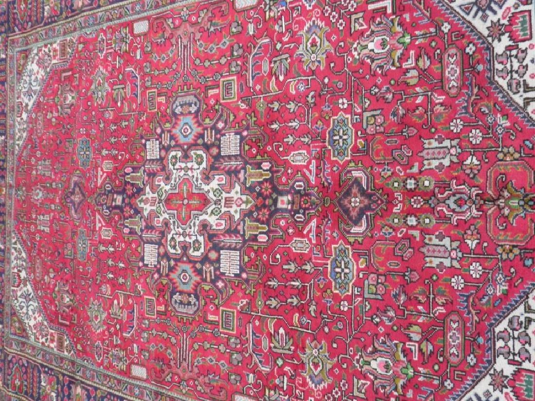 Fascinating Semi Antique Persian Tabriz Rug 9.5x6.4 - 3
