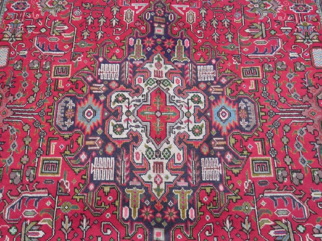 Fascinating Semi Antique Persian Tabriz Rug 9.5x6.4 - 5