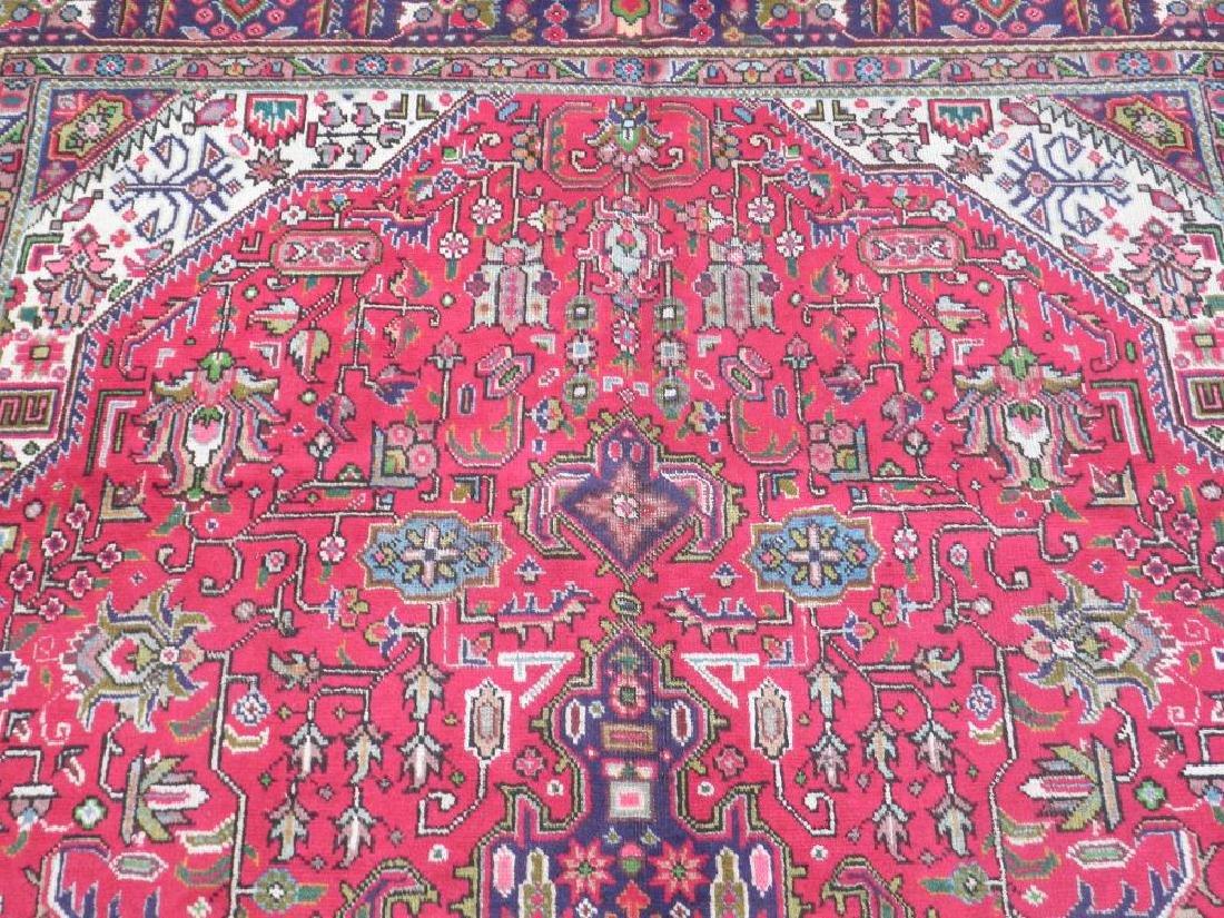 Fascinating Semi Antique Persian Tabriz Rug 9.5x6.4 - 6