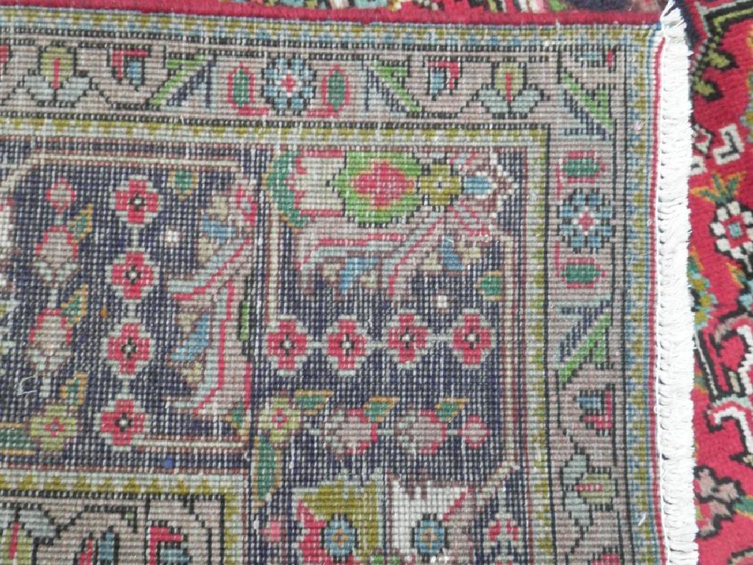 Fascinating Semi Antique Persian Tabriz Rug 9.5x6.4 - 8