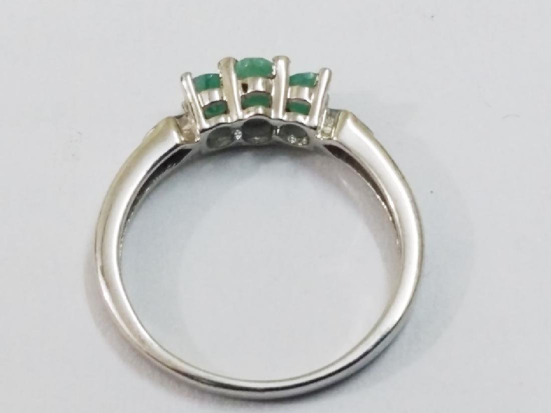 Green Emerald Ring - 2