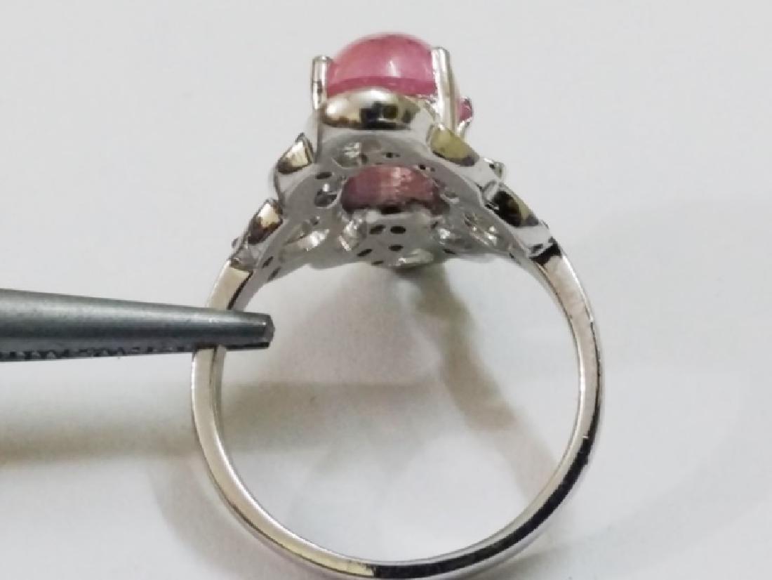Ruby Emeralad Sapphire Ring - 2