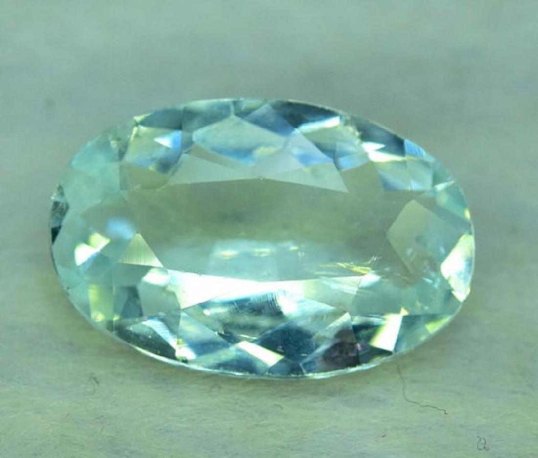 9.65 CTS Oval Cut Natural Untreated Aquamarine Gemstone