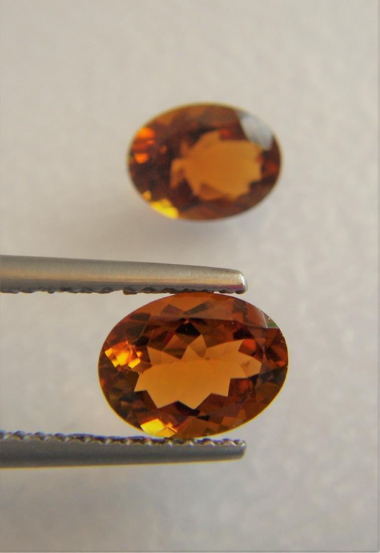 Orange Tourmaline Pair – 2.55 ct