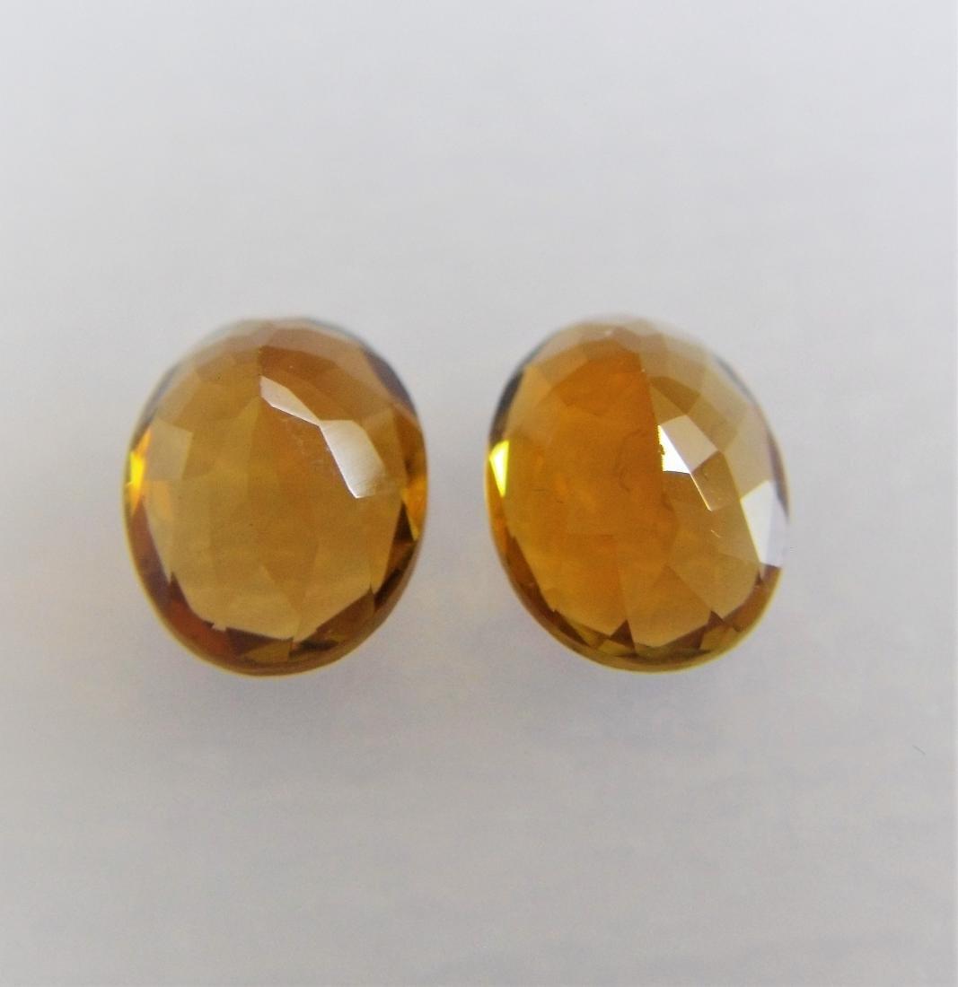 Orange Tourmaline Pair – 2.55 ct - 2