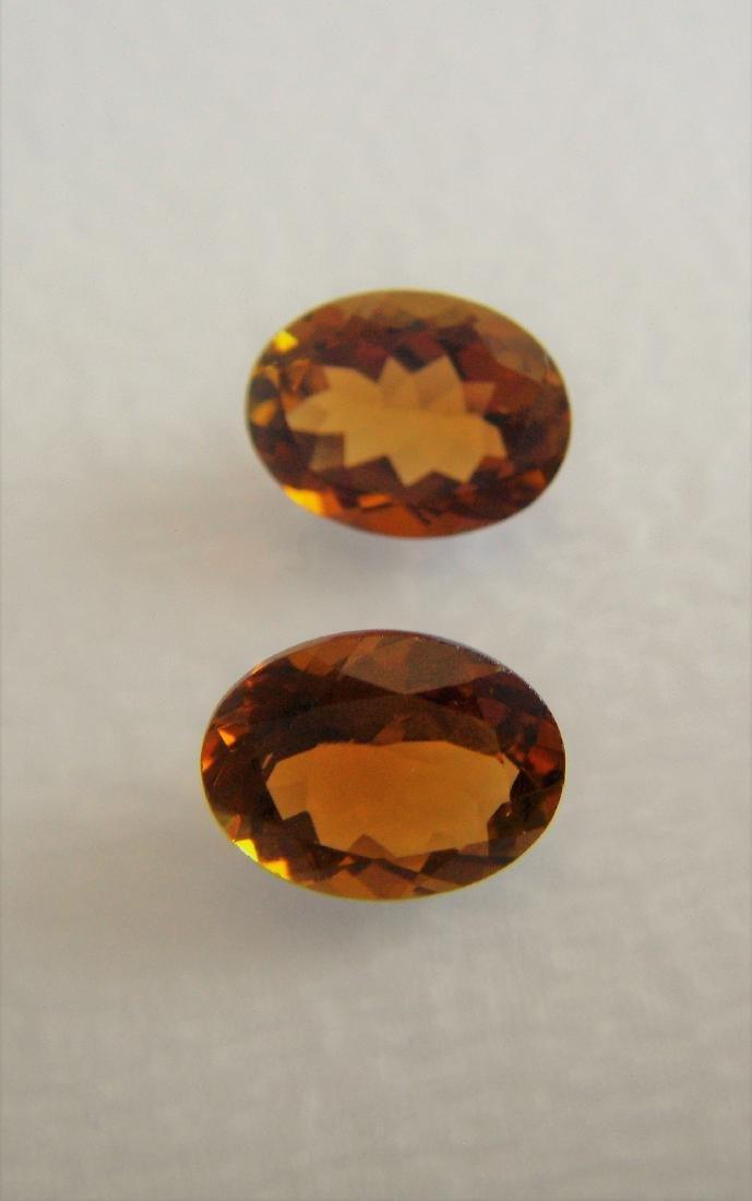 Orange Tourmaline Pair – 2.55 ct - 3