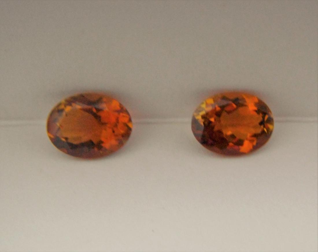 Orange Tourmaline Pair – 2.55 ct - 6
