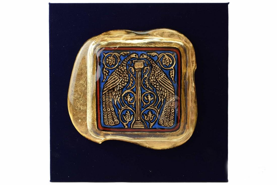 Ferro Lorenzo - Murano glass gold leaf image
