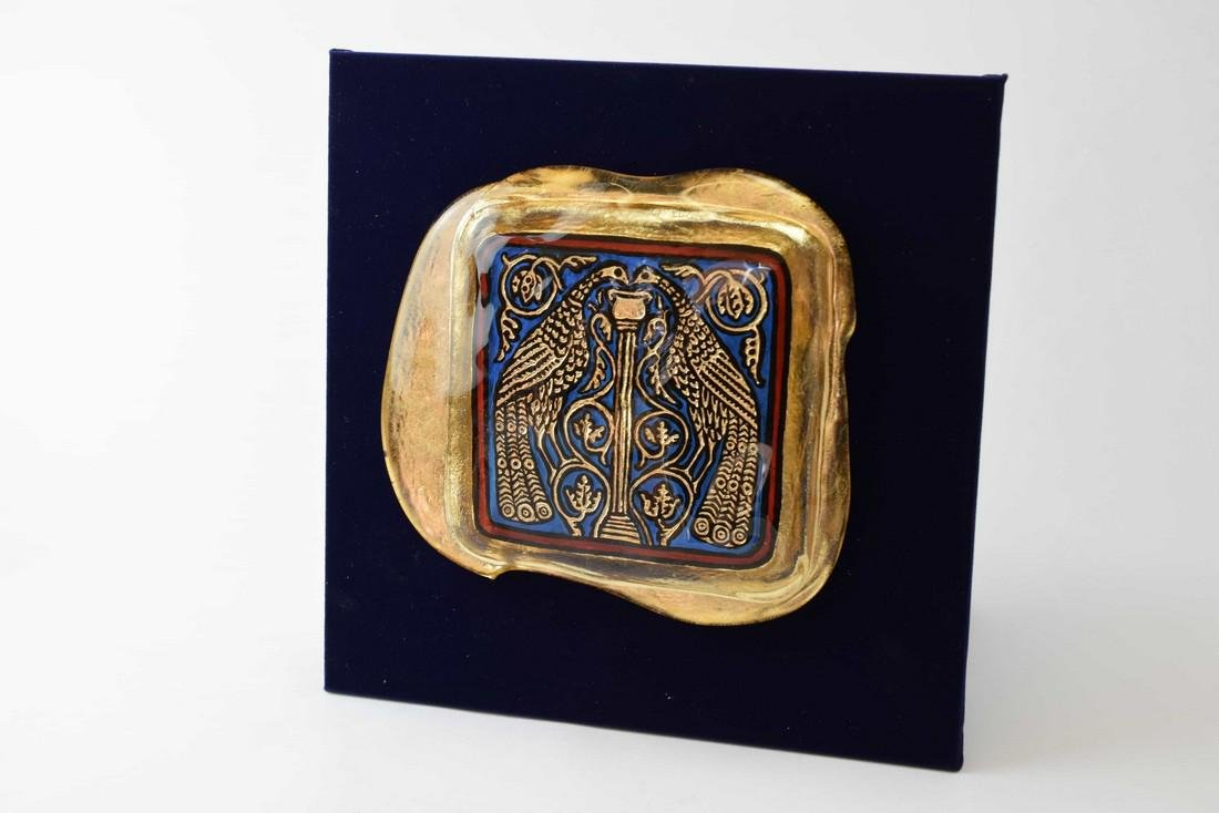 Ferro Lorenzo - Murano glass gold leaf image - 2