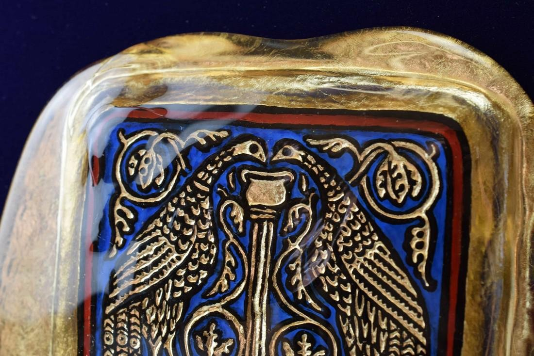 Ferro Lorenzo - Murano glass gold leaf image - 4