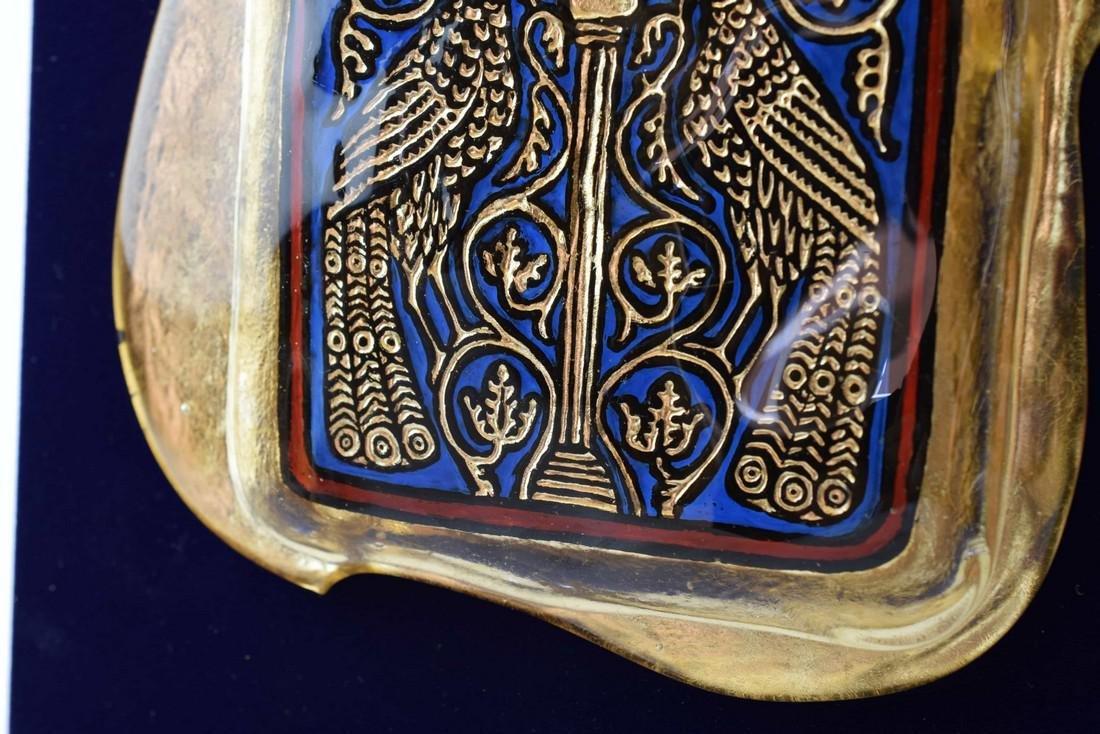Ferro Lorenzo - Murano glass gold leaf image - 5