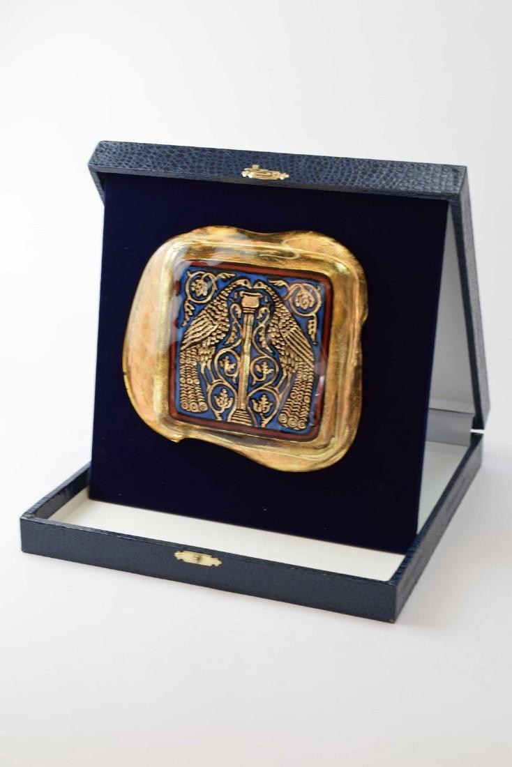 Ferro Lorenzo - Murano glass gold leaf image - 9