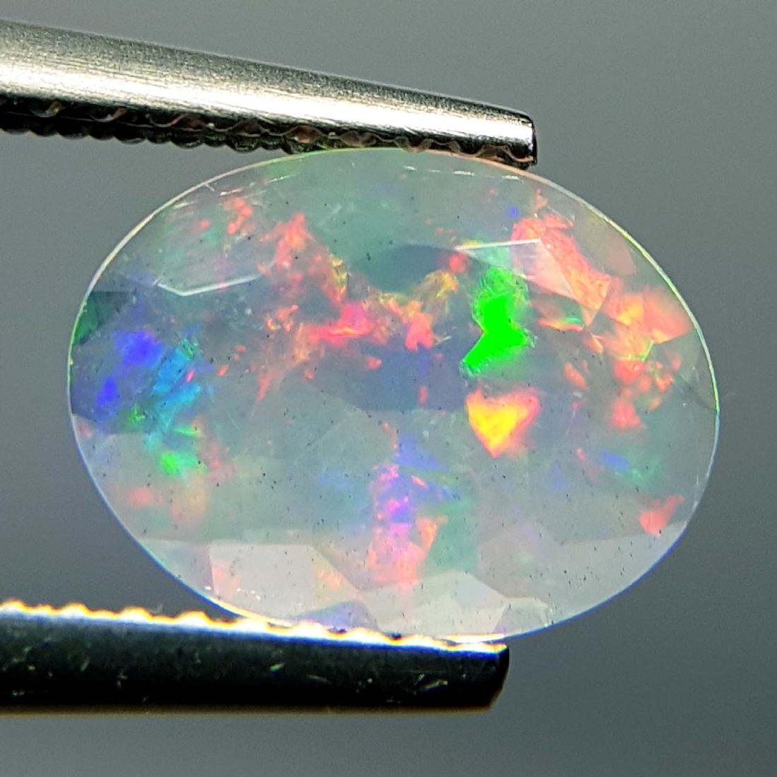 Top Fire Oval Cut Natural Opal  - 1.04 ct - 4