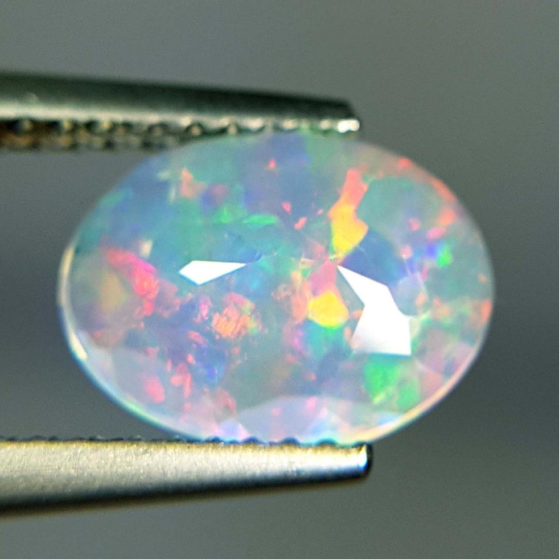 Top Fire Oval Cut Natural Opal  - 1.04 ct - 9