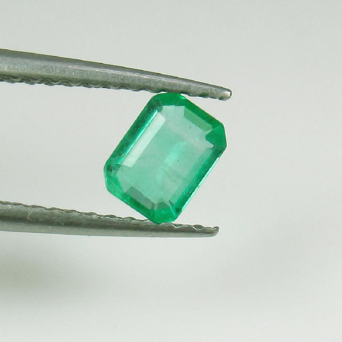 0.42 Ct Genuine Loose Zambian Emerald Nice Octagon cut