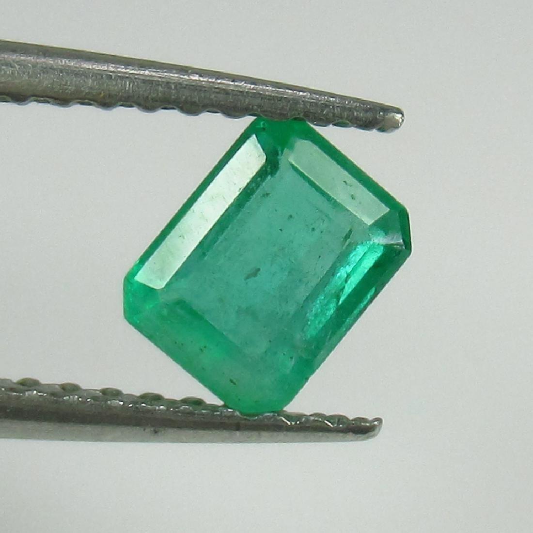 0.45 Ct Genuine Loose Zambian Emerald Octagon cut