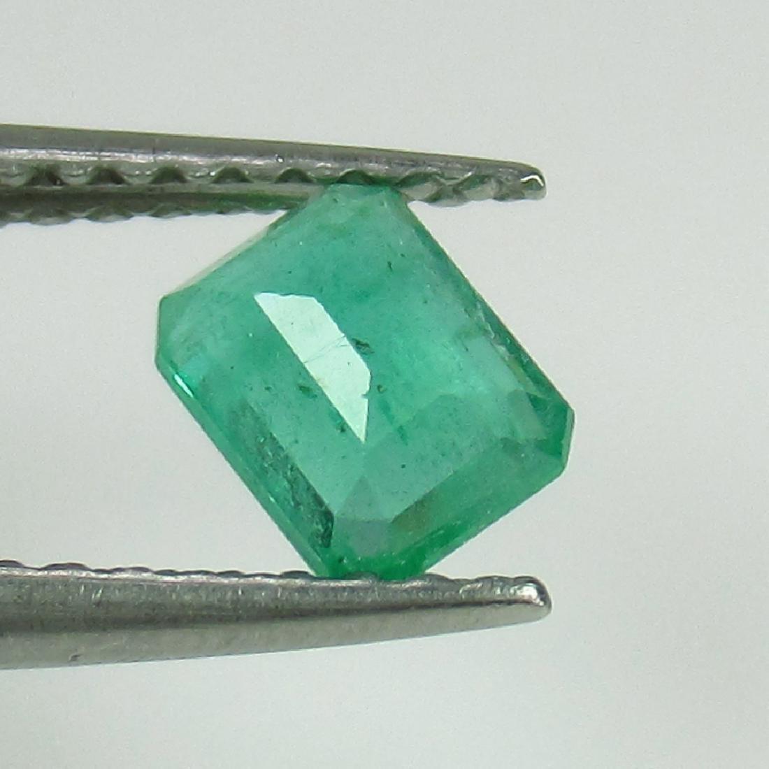 0.45 Ct Genuine Loose Zambian Emerald Octagon cut - 2