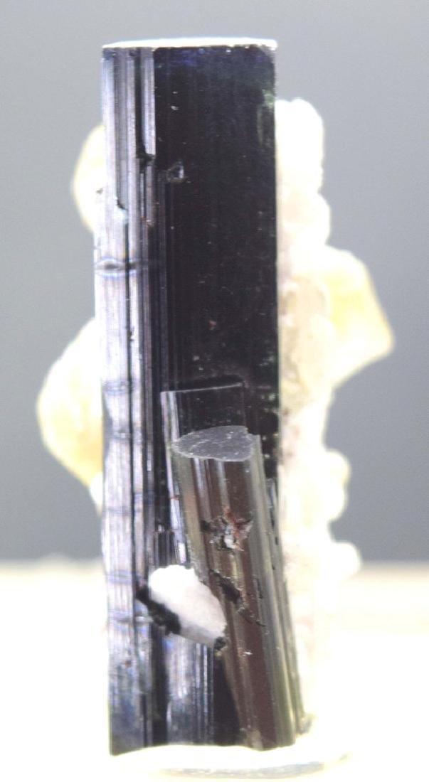 20 Gram Blue Cap Tourmaline Crystal with Phlogopite