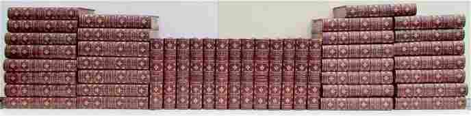 DECORATIVE BINDINGS 43 VOLUMES 1899 ANTIQUE ALEXANDRE