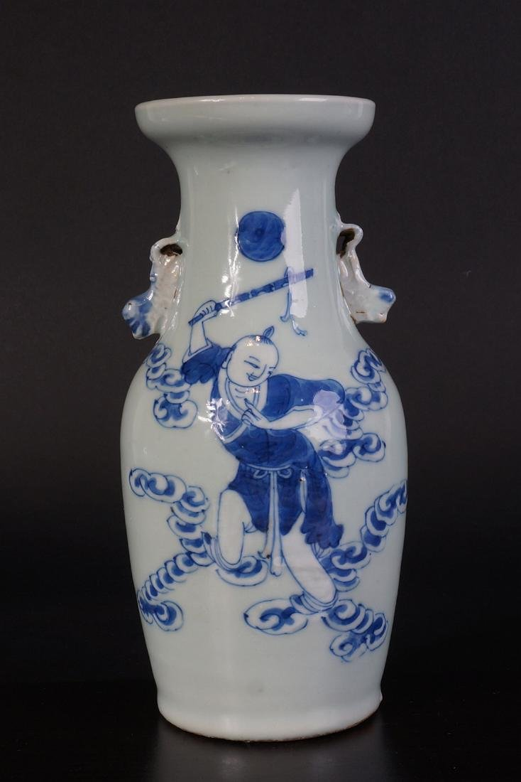 Antique Chinese Celladon vase