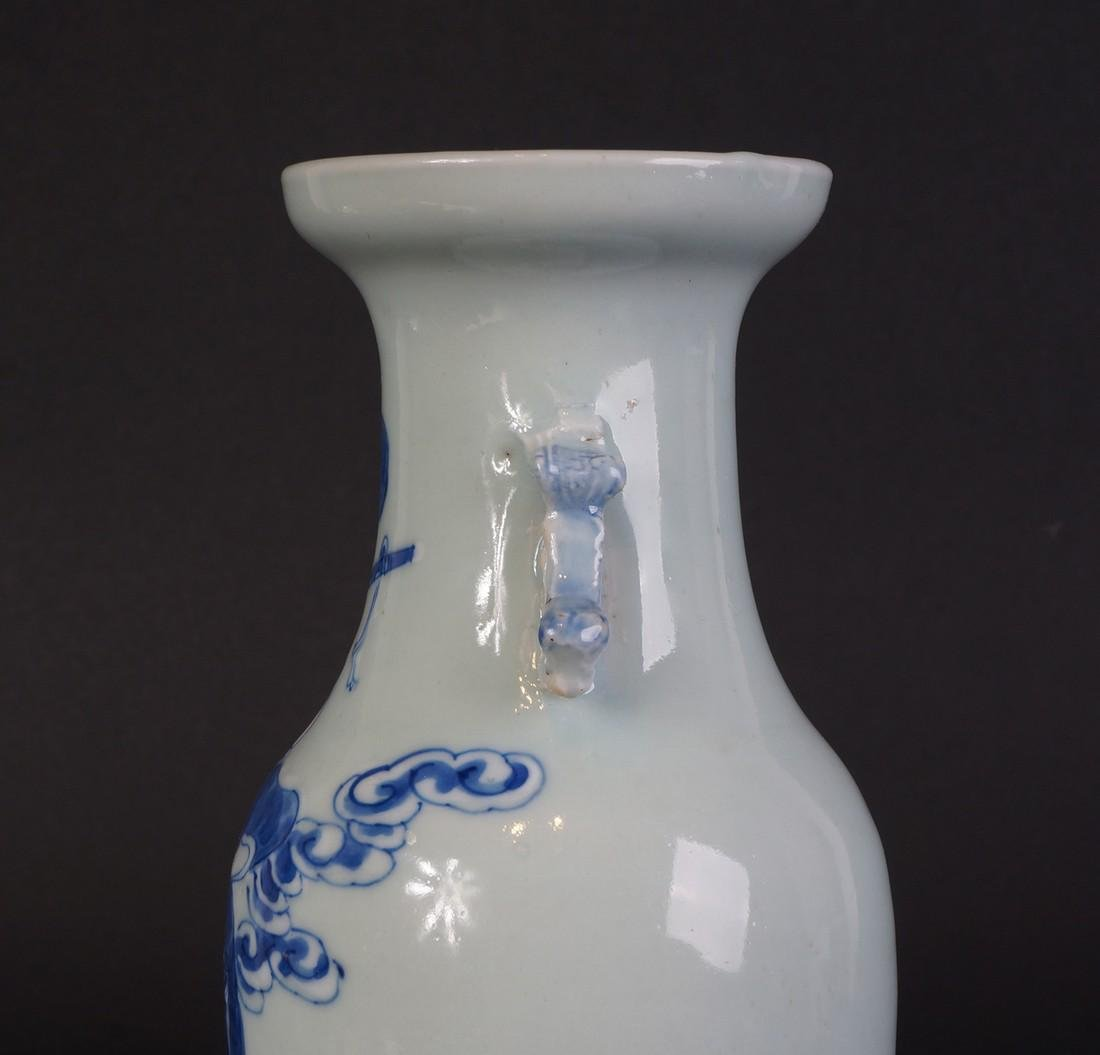 Antique Chinese Celladon vase - 8