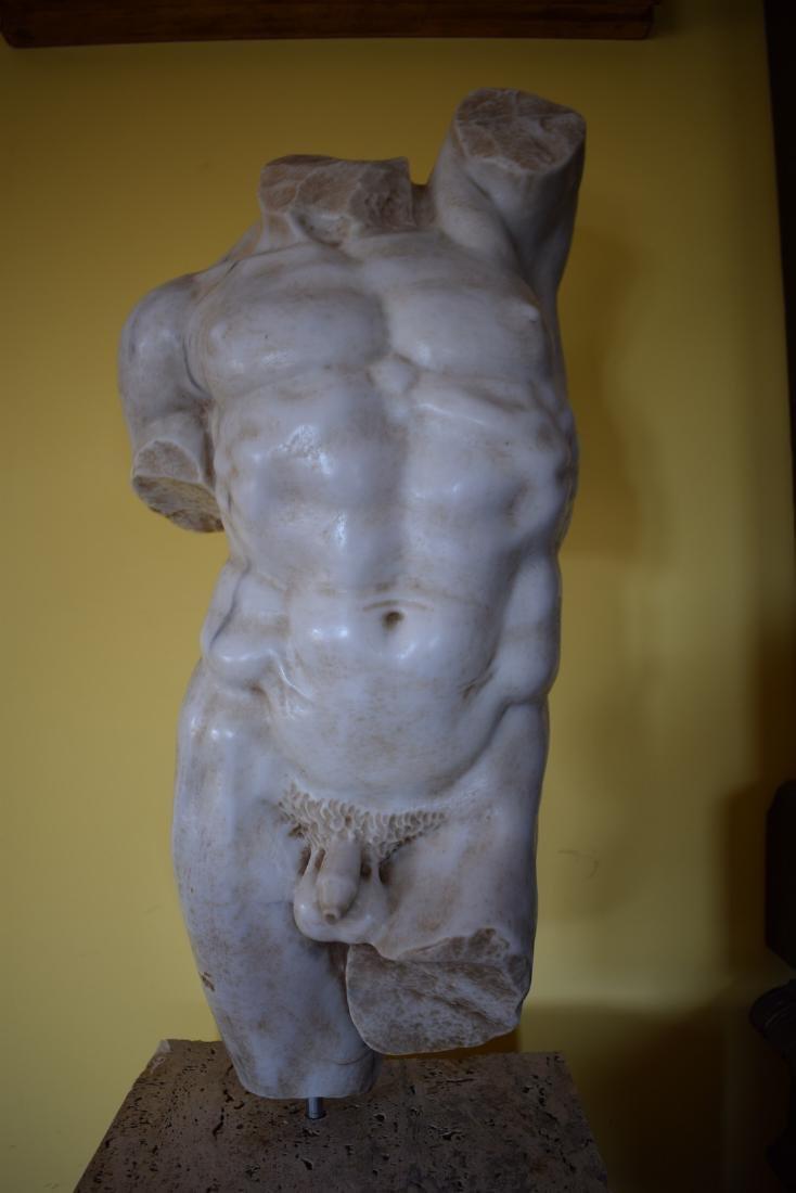 Torso in marble