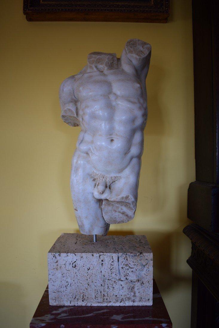 Torso in marble - 2