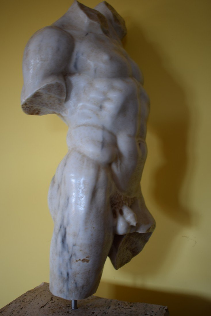 Torso in marble - 4