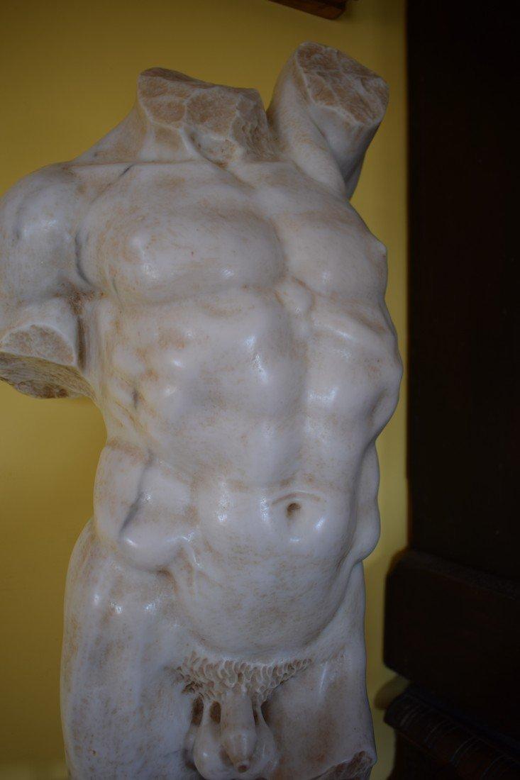 Torso in marble - 5